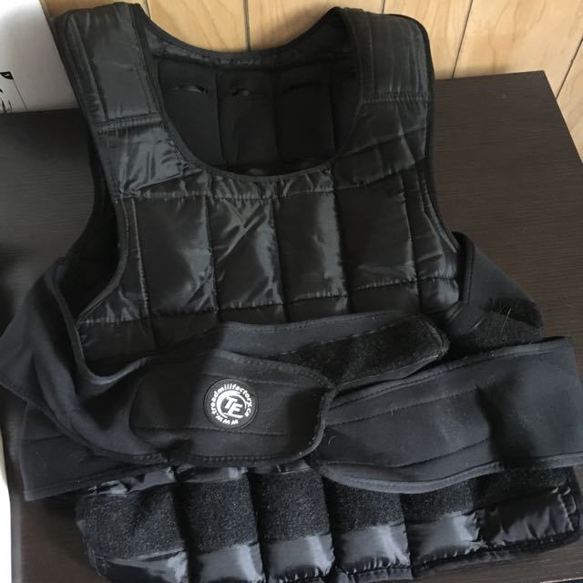 Treadmill Factory 38lb Weighted Vest