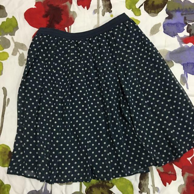 Uniqlo Flowy Skirt