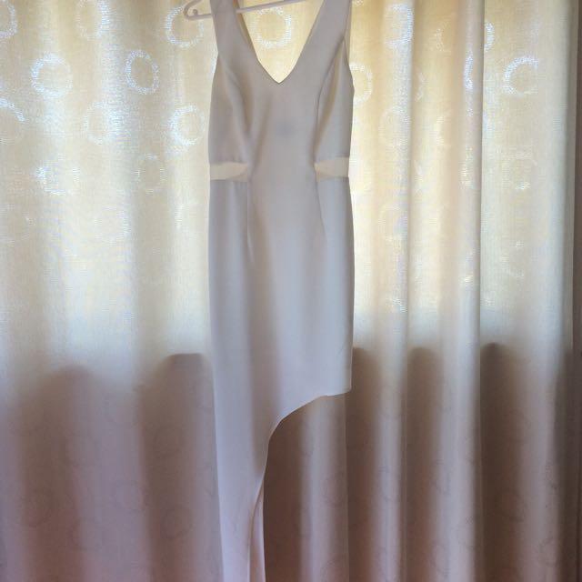 White Semi Formal Dress