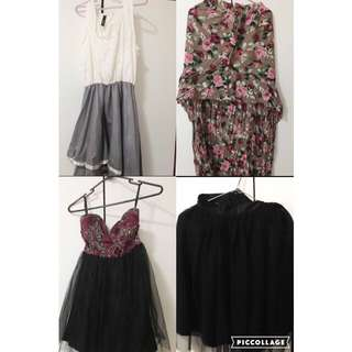 Bundle Skirt And Dress