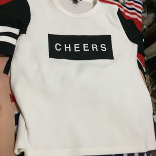 "Forever 21 ""Cheers"" Shirt"