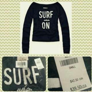全新Hollister T Shirt Surf