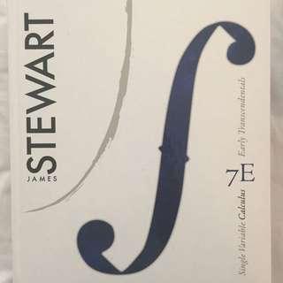 Calculus 7E By James Steward + Problem Set Booklet