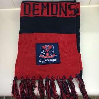 Melbourne Football Club Member Scarf