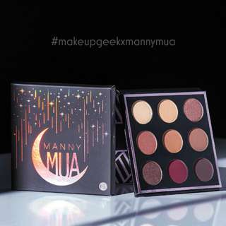 MakeupgeekXmannymua Palette 😊