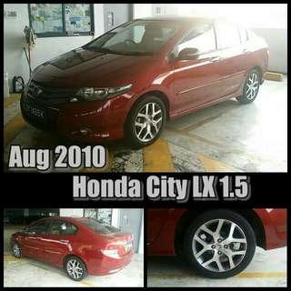 Aug 2010 . Honda City 1.5
