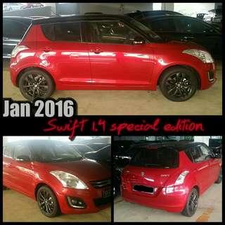 Jan 2016 Suzuki Swift New Facelift.