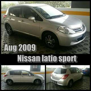 Aug 2009 Nissan Latio Sport
