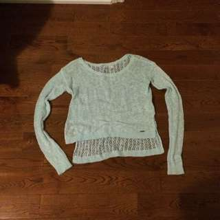 Abercrombie & Fitch Mint Blue Light Sweater