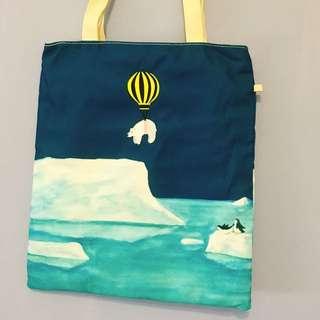 北極熊帆布包 手提