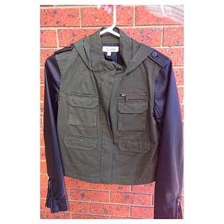 Miss Shop Khaki Green Jacket
