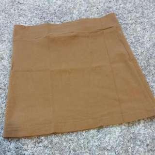 Forever21 Brown Mini Skirt