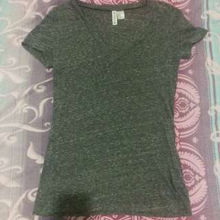 H&M Gray T-shirt