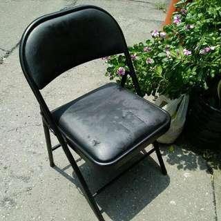 🚚 二手 正黑色椅
