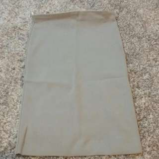 grey Bodycon Skirt Knee Lenght