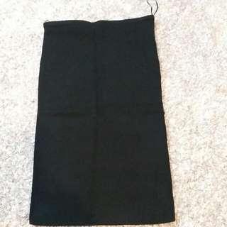 Black Bodycon Knee Length Skirt