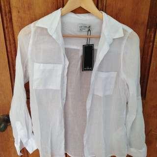 womens lightweight button up shirt