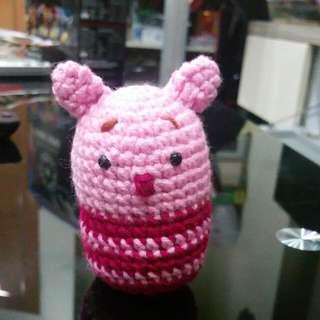 Crochet Home Made Piglet