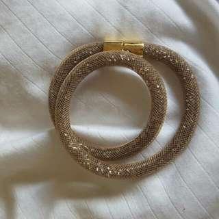 Swarovski Gold Stardust Bracelet