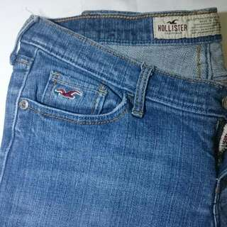 Hollister Size 1s Low Rise Skinny Jeans