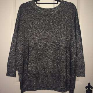H And M Sparkly Sweater