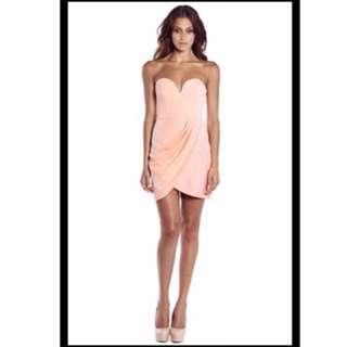 Shona Joy Strapless Dress
