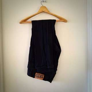Black Jeans Size 38 Waist Stretch