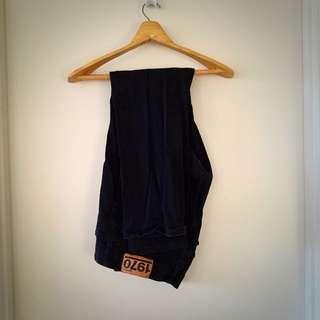 Black Jeans Size 38 Waist Stretch