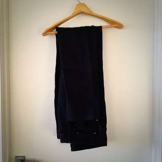 Black Jeans Slim Tapered Size 38 Waist