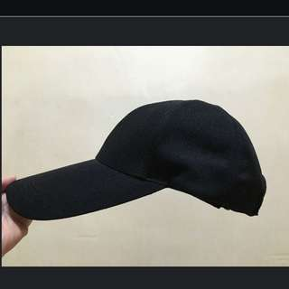 全新 黑色 鴨舌帽