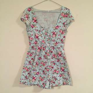 Rose Play Suit