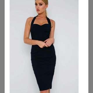 Show Po Black Dress