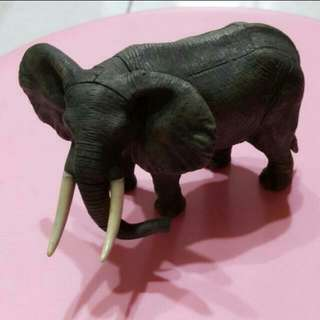 大象模型2隻