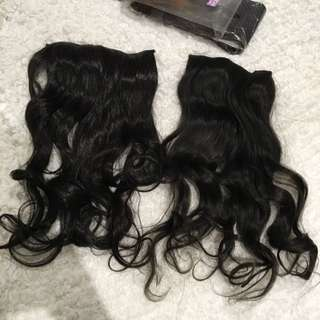 PENDING Clip On Hair Extensions
