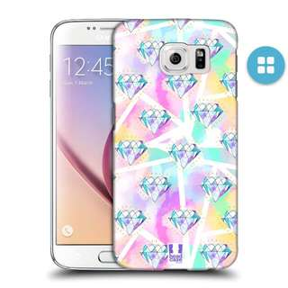 Head Case - Diamonds Hard Case For Samsung S7