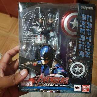 Shf Marvel Captain America (AOU)