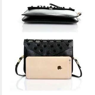 Fashion Rivet Sling Bag INCLUDE POSTAGE