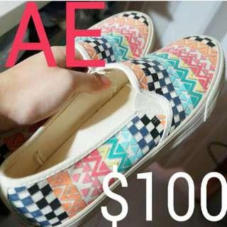 AE American Eagle民族風布鞋