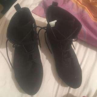 Kmart Dress Lace Up Boots