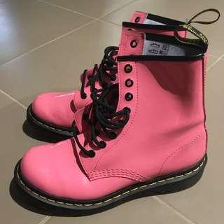 Pink Dr Martens Shoes
