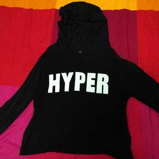 (Free Postage) HYPER Long Sleeve Crop