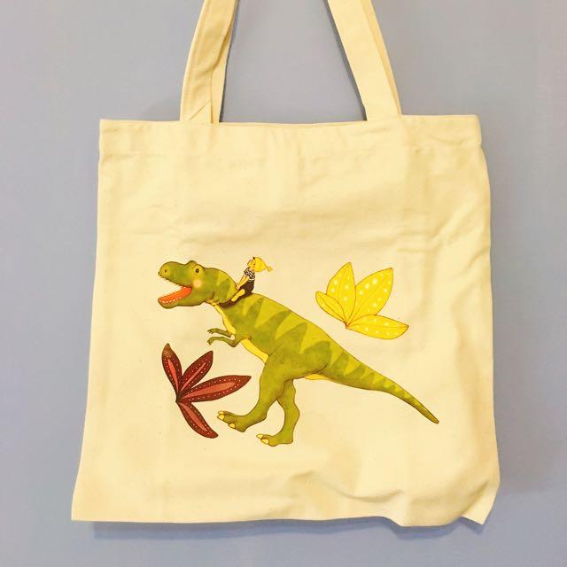 恐龍帆布包
