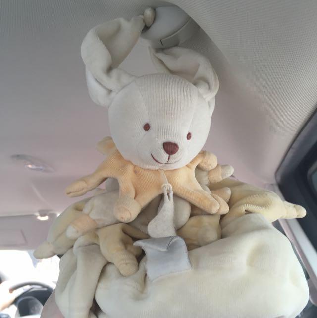 徵 此安撫兔 迷你版 法國 Doudou