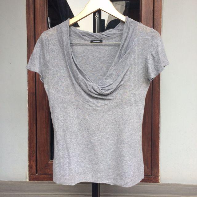 👚 Grey Knit Halus