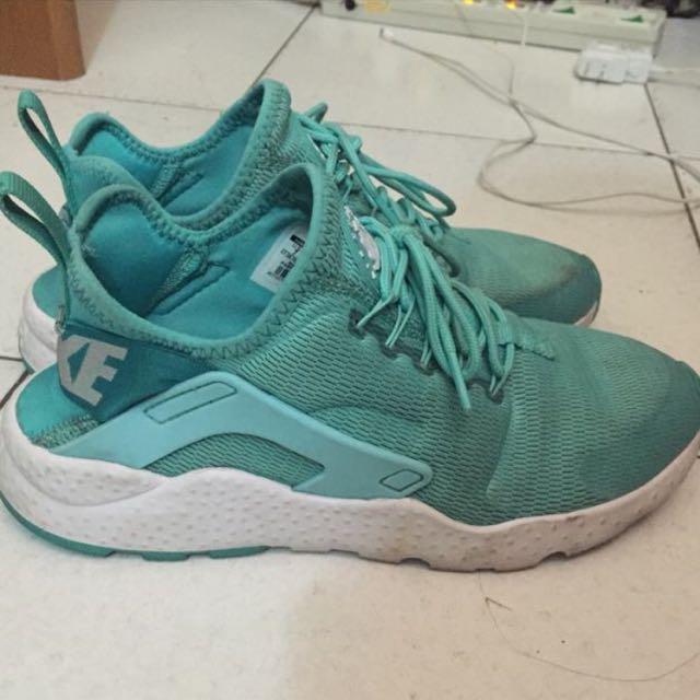 正品 Nike Huarache 武士 二代 薄荷綠 泰瑞色 蒂芬妮綠