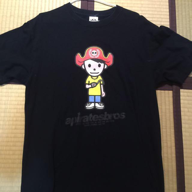 Apiratestore 海盜 T Shirt