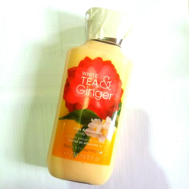 Bath And Body Works White Tea And Ginger Body Lotion