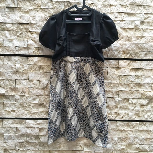 Batik Dress fit to S