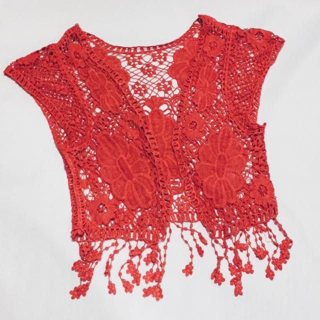 Bohemian Crochet Cover Up