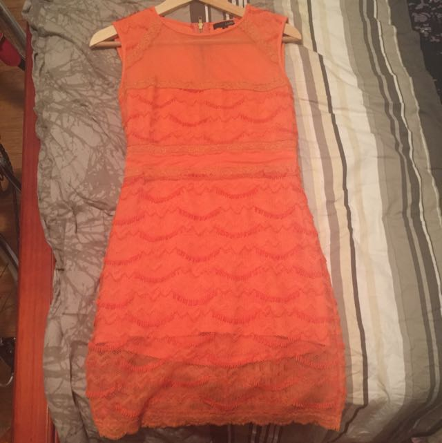 Brand new Ladakh Orange Dress